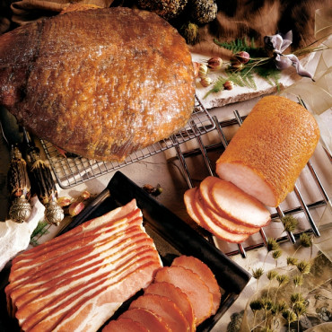The Smokehouse Choice with 13lb Ham